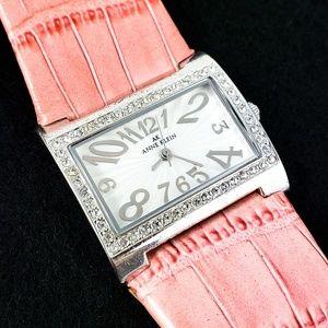 Vintage Anne Klein Watch Pink Strap